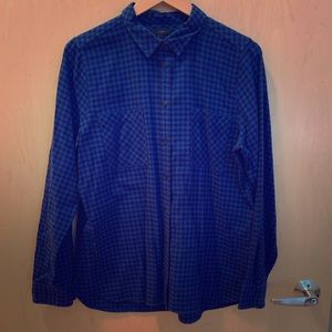 J Crew Flannel Boy Shirt in Mini Buffalo Check